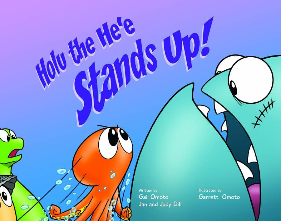 Holu the He`e Stands Up!