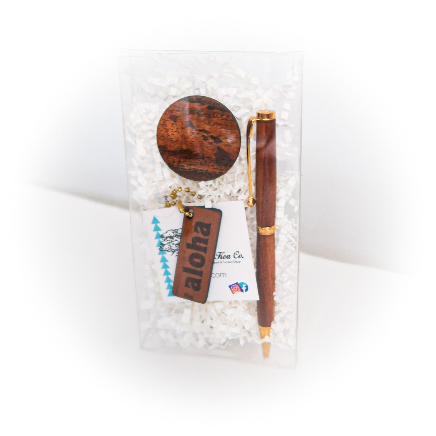 Koa Office Gift Set
