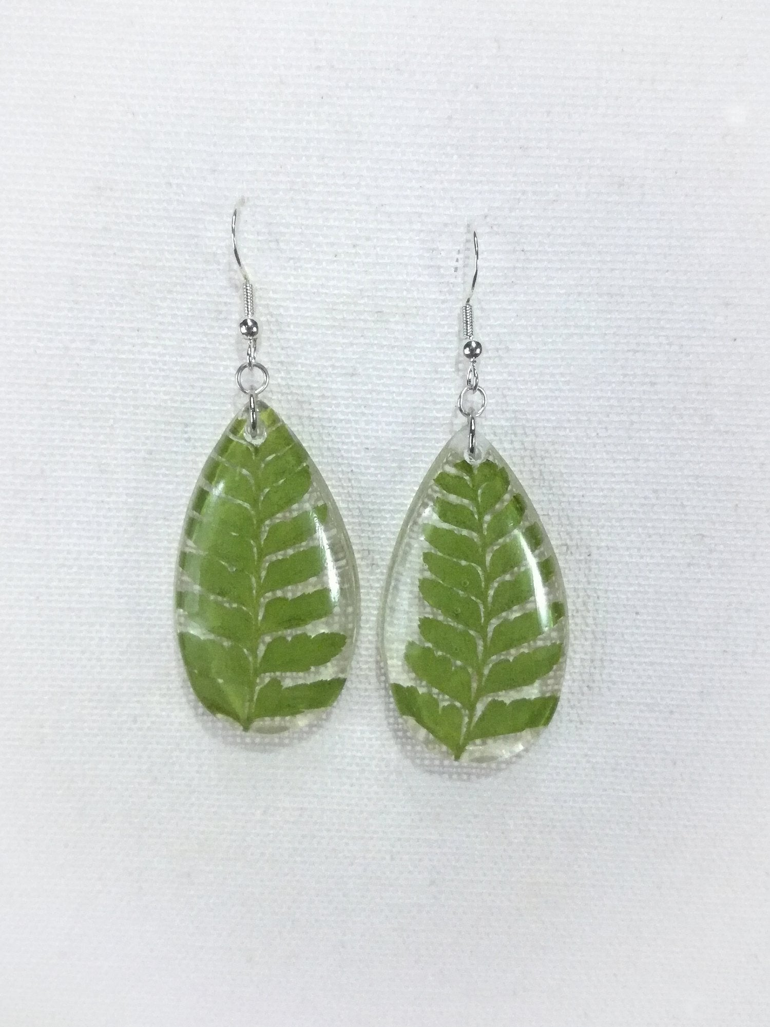 Large Palapalai Fern Earrings