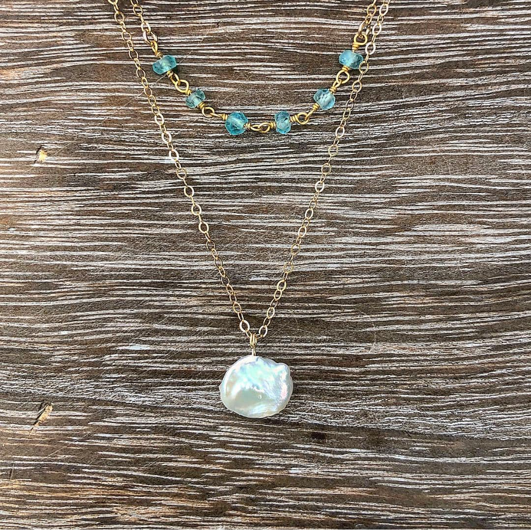Mountain Pearl Necklace
