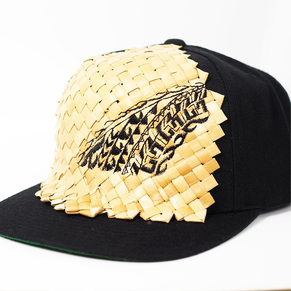 Natural Lauhala - Embroidered Hat
