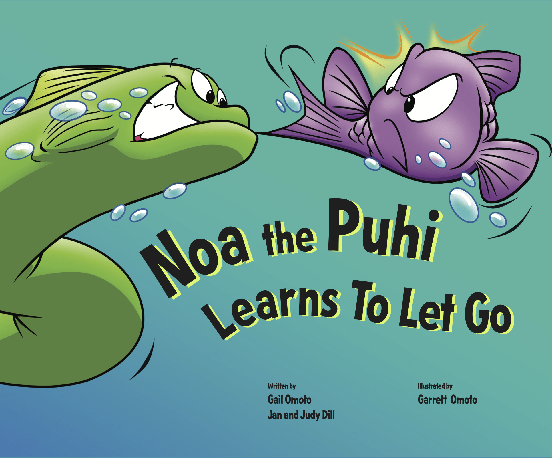 Noa the Puhi Learns to Let Go