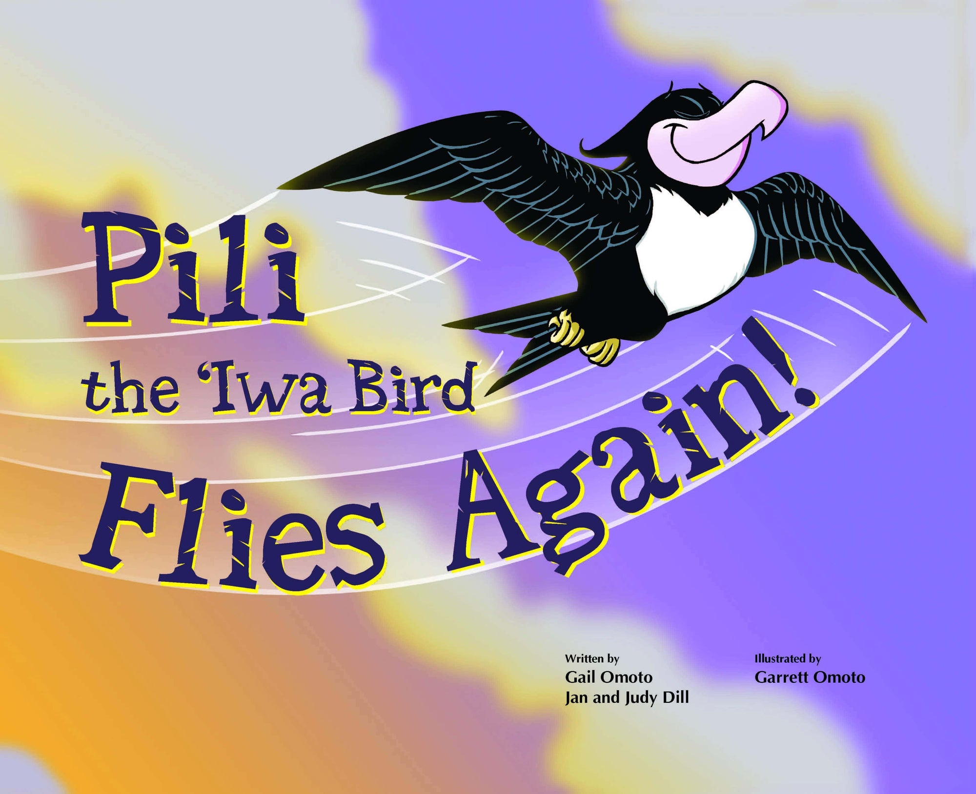 Pili the `Iwa Bird Flies Again!