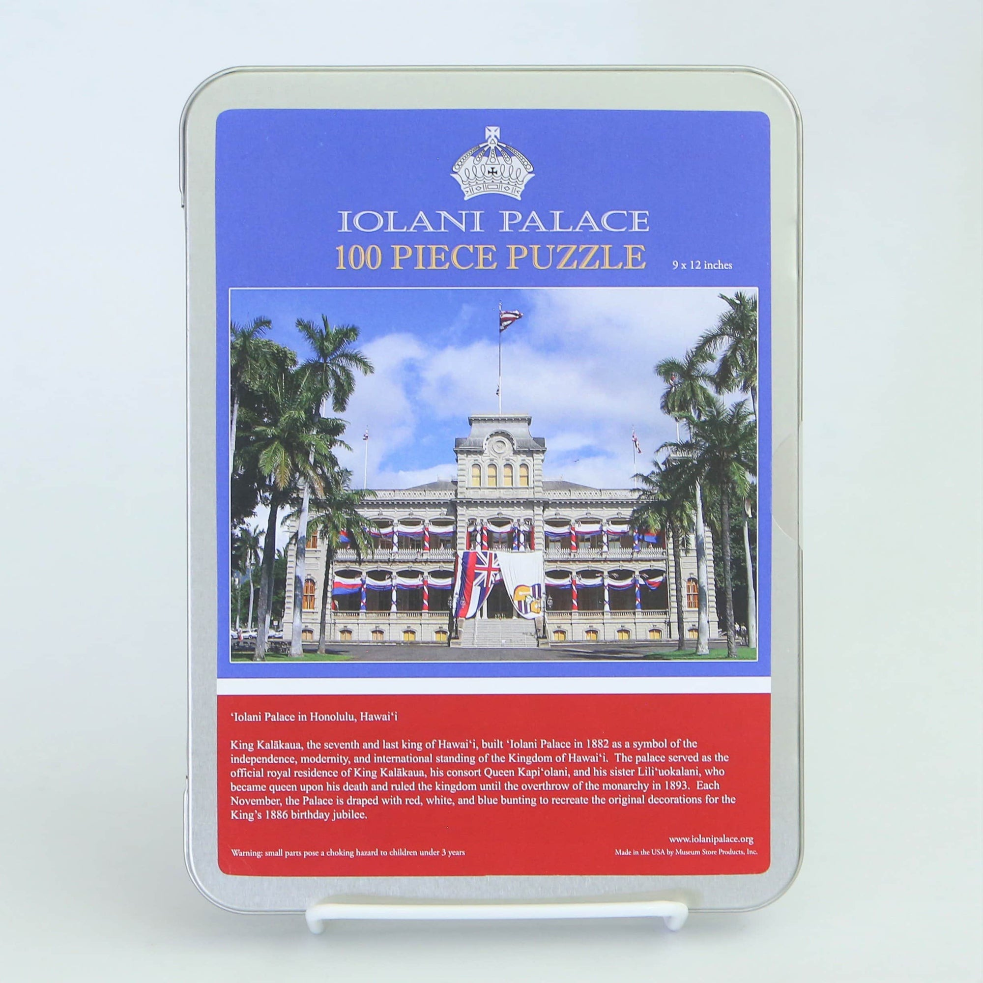 Iolani Palace Puzzle 100 Pc