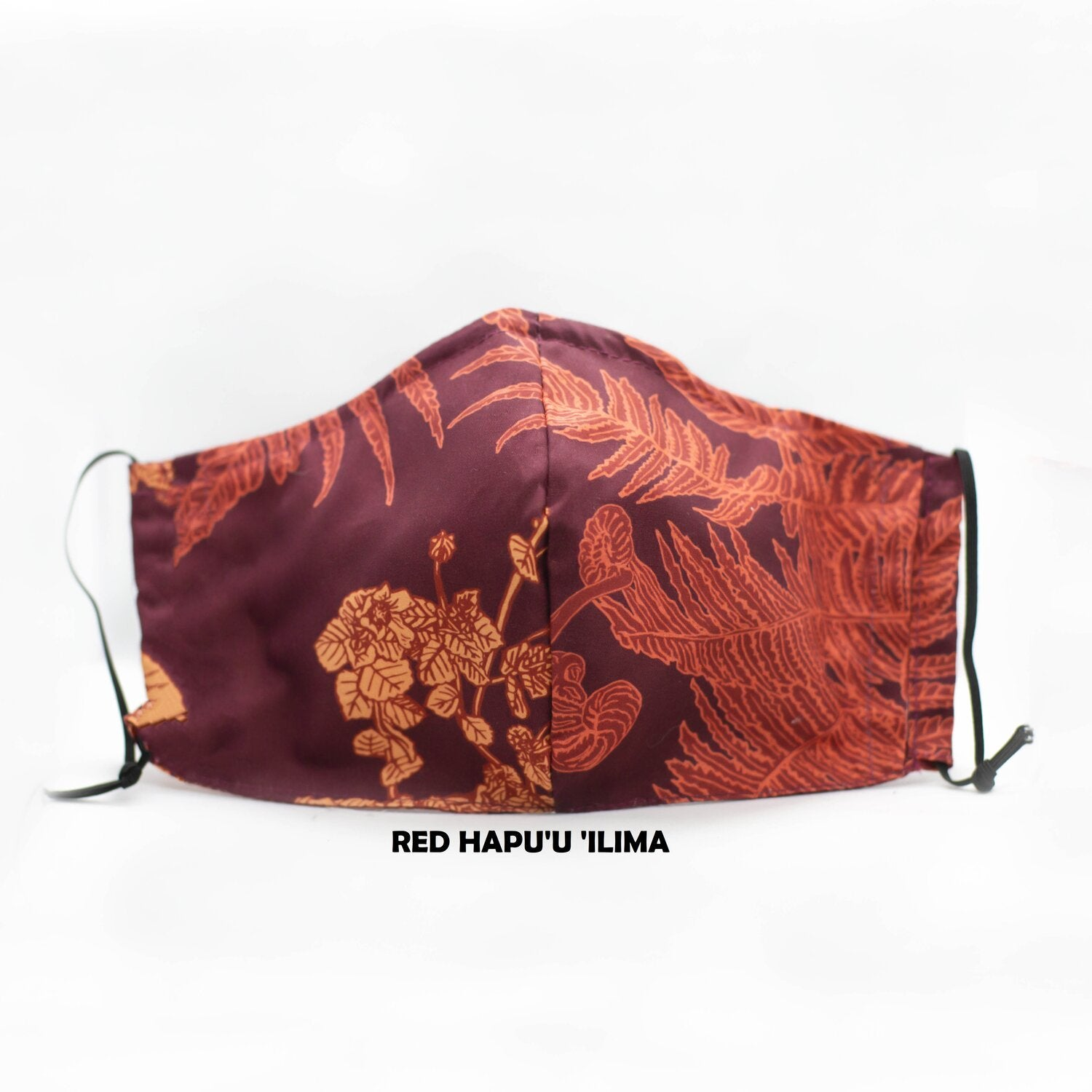 Hapuu Ilima Red Face Mask
