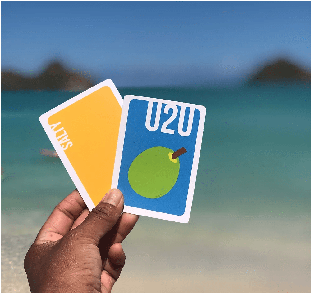 Ulus to Ulus: One local kine card game