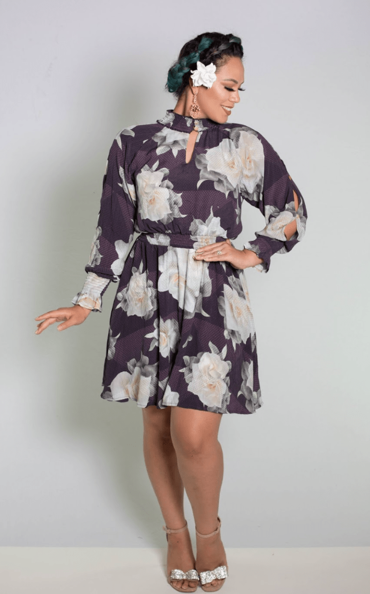 Ohu Dress - Plum
