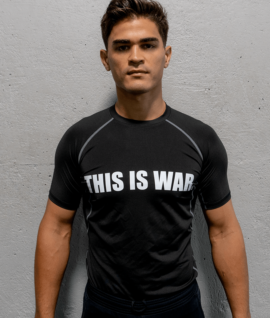 This Is War Compression Shirt Black