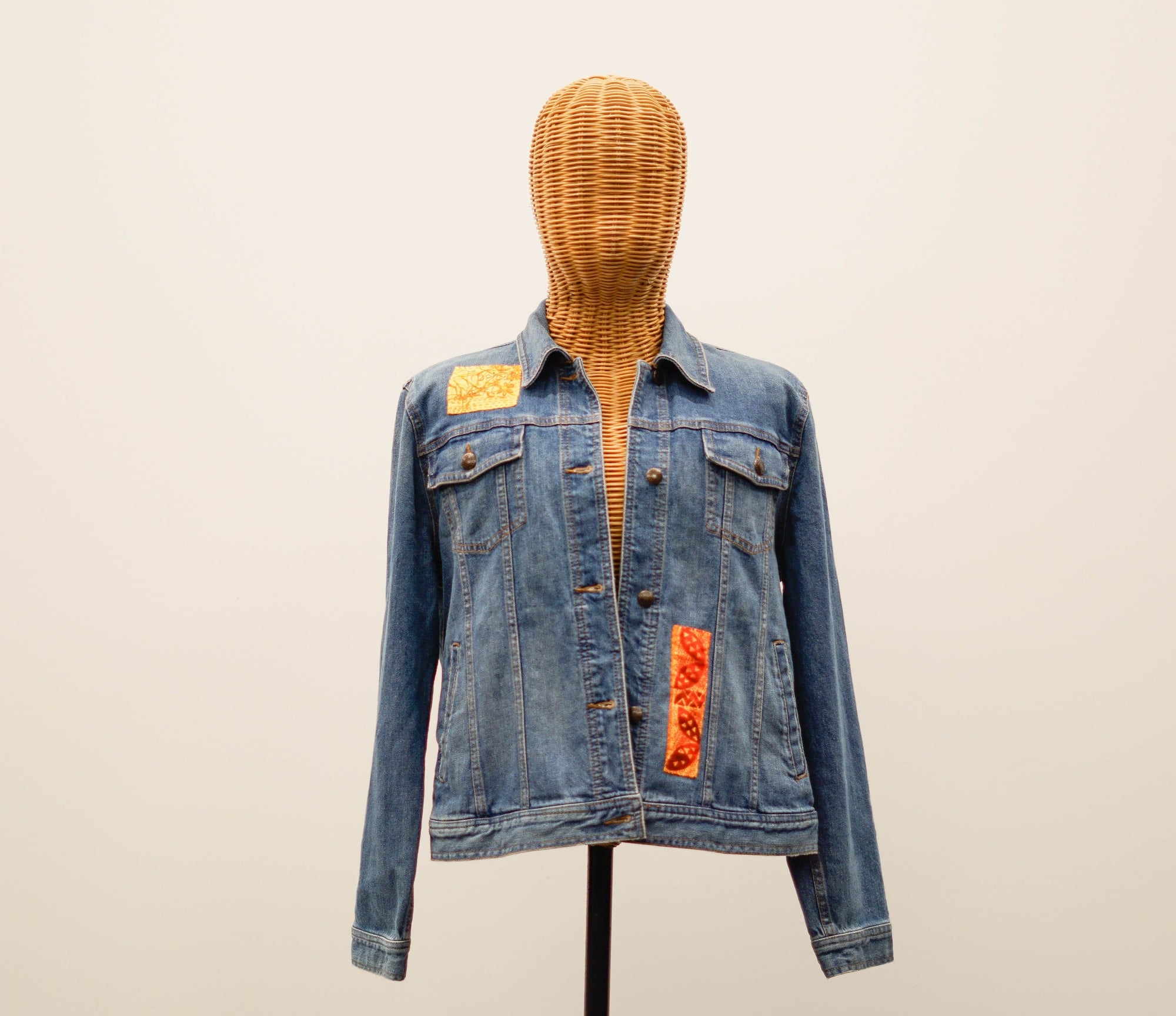 Tropical Girl Denim Jacket (Large)