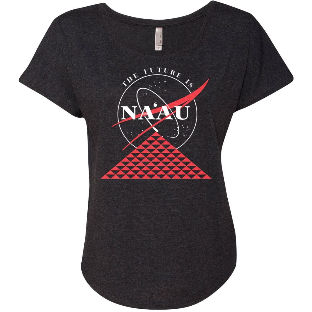 The Future Is Naau Women's Shirt - Black