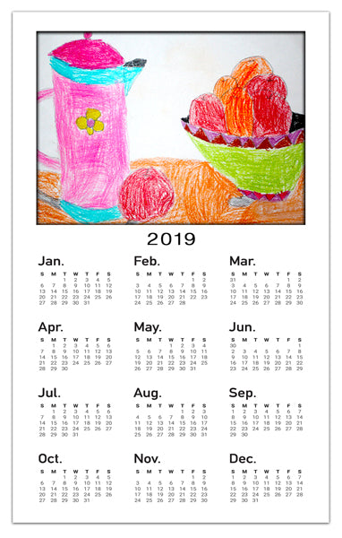 Artwork Calendar Magnets | Creativity
