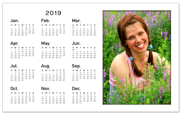 Photo Calendar Magnets | Classic