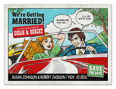 Unique Save The Date Magnets | Our Journey | MAGNETQUEEN