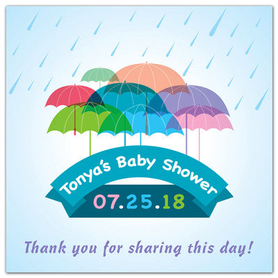 Baby Shower Magnets | Let It Rain | MAGNETQUEEN