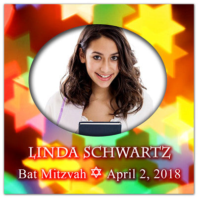 Bat Mitzvah Save The Date Magnets | The Star