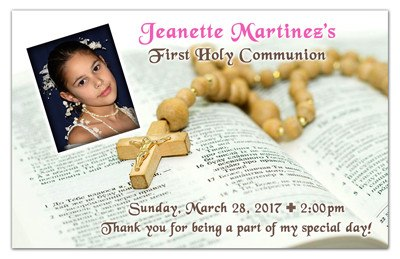 1st Holy Communion Magnet | Bible Girl | MAGNETQUEEN