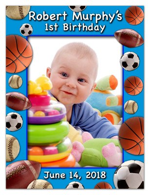 Birthday Photo Magnets | Sports Star | MAGETQUEEN