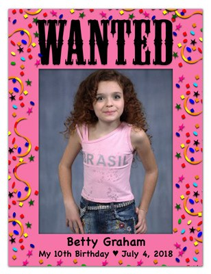 Photo Magnets | Wanted Girl