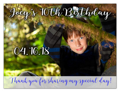 Birthday Announcement Magnet | Hey It's His Birthday | MAGNETQUEEN