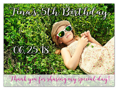 Birthday Announcement Magnets | Hey It's Her Birthday