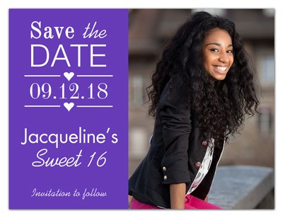 Save The Date Birthday Magnet