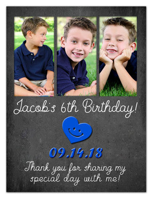 Three Photo Birthday Magnet | 3 For Fun | MAGNETQUEEN