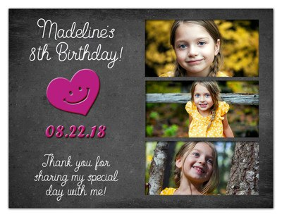 Photo Fridge Magnets | Birthday Hipster Girl | MAGNETQUEEN
