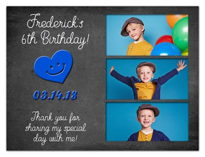 Photo Fridge Magnets |  Birthday Hipster Boy | MAGNETQUEEN