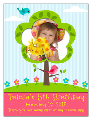 Birthday Magnet For Girl | Flower Fun | MAGNETQUEEN