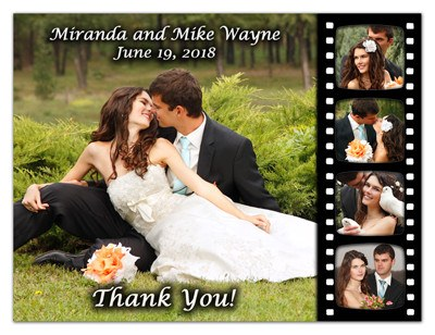 Wedding Thank You Magnet | 5 For Five