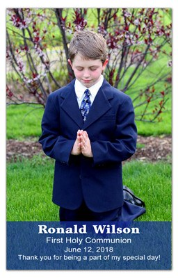 1st Holy Communion Magnets | Transparency Boy | MAGNETQUEEN