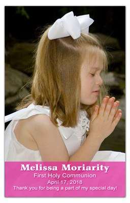 First Holy Communion Magnet | Transparency Girl | MAGNETQUEEN