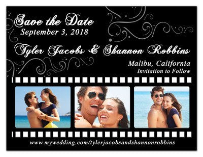 Film Strip Save the Date Magnet | Film Strip | MAGNETQUEEN