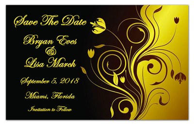 Save the Date Magnets | Golden Moment