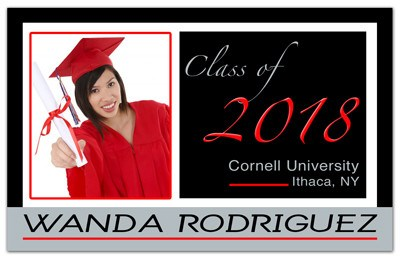 Graduation Magnets Personalized | Borders | MAGNETQUEEN
