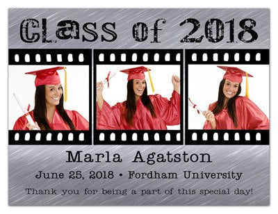 Graduation Magnet Party Favor | Film Strip | MAGNETQUEEN