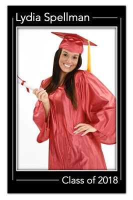 Photo Graduation Magnet Announcements | Focus | MAGNETQUEEN