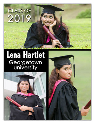 3 Photo Graduation Magnet | Big Day | MAGNETQUEEN