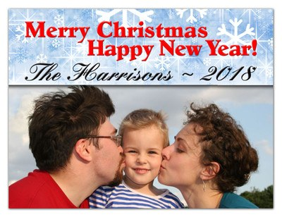 Christmas Photo Magnets | Merry Christmas | MAGNETQEEN