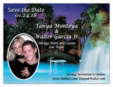 Las Vegas Wedding Photo Magnets | <br>The Mirage Hotel - MAGNETQUEEN