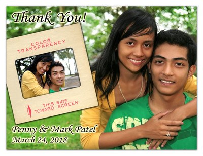 Wedding Thank You Photo Magnets | Old and New | MAGNETQUEEN