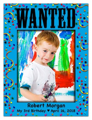 Fun Photo Magnets | Wanted - MAGNETQUEEN
