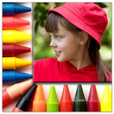 Photo Magnets | Crayons