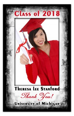 Photo Graduation Magnets | Water Color Graduation | MAGNETQUEEN