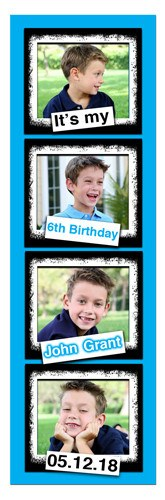 Photo Booth Birthday Magnet | Grunge Boy | MAGNETQUEEN