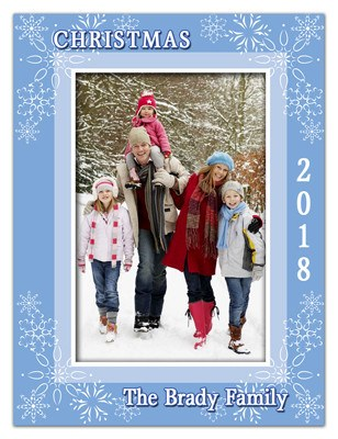 Christmas Photo Greeting Magnets | Festive Joy | MAGNETQUEEN