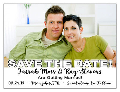 Save The Date Magnets | Save My Date | MAGNETQUEEN