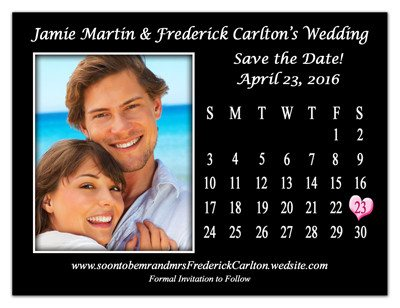Wedding Calendar Save The Date Magnets | Month | MAGNETQUEEN