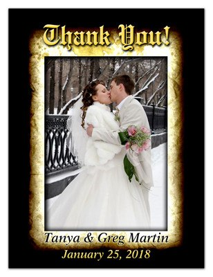 Wedding Thank You Magnets | Thank You | MAGNETQUEEN