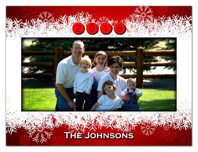 Holiday Photo Magnets | Ho Ho Ho | MAGNETQUEEN